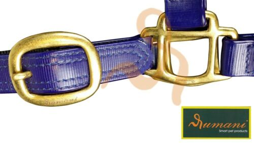 Rumani Heavy Duty PVC Halters With PP Web Lining and Solid Brass Hardware