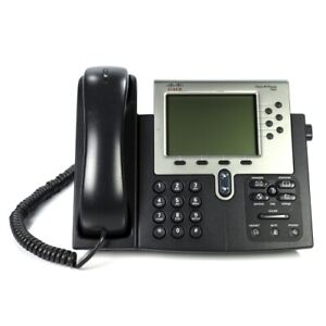 Details about Cisco CP-7962g 7962 Unified VoIP IP Office Business Phone -  7960 Series - No AC