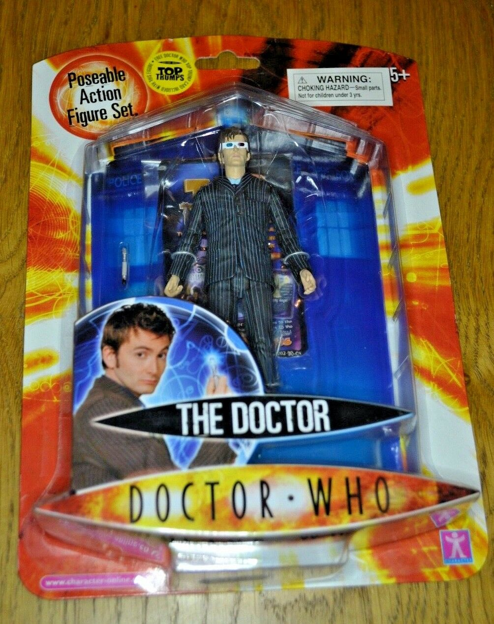 Modern Vintage Dr Who Action Figure The Doctor; Factory Sealed