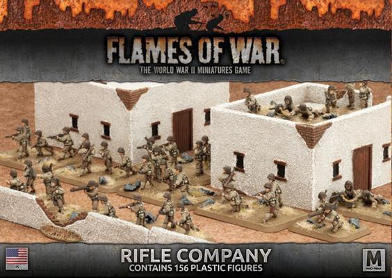 US - Rifle Company (plastic) - UBX58 Flames of War