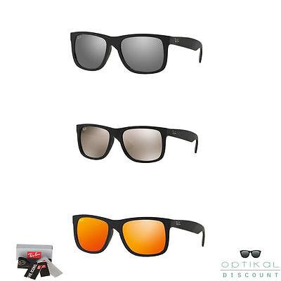 RAY BAN RB 4165 Justin occhiali da sole specchiati uomo donna RB4165 a specchio