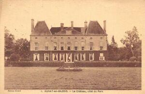 Aunay-En-Bazois-the-Castle-Side-of-the-Park