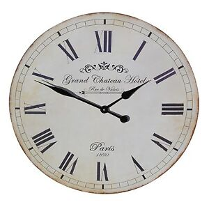 French-Style-Large-60cm-Grand-Chateau-Hotel-Wall-Clock