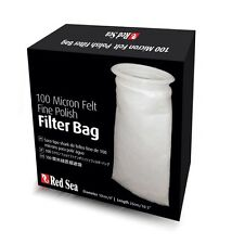 "RED SEA FINE FELT 100 MICRON FILTER SOCK 4"" BY 10.5"". FREE SHIPPING TO THE USA"