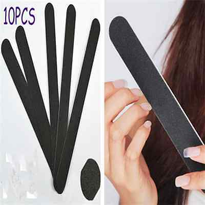 Simple Nail Art Sanding File Buffer Salon Manicure UV Gel Polisher Tool 10PCS