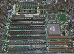 Vtg-1989-Intel-i486-SX419-Processor-w-Ambios-MB-Motherboard-w-Memory-RAM-J170