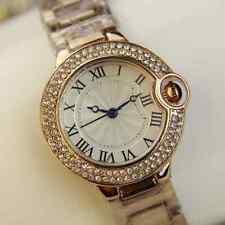 De Colección Moda Cristal Plateado Oro Reloj Dama Belleza-Antiguo/estilo de moda