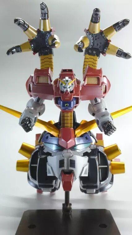 B -Club Recast 1  144 skala hkonsts Cast Kit Devil Gundam Full modellllerlerl Kongrönering GK