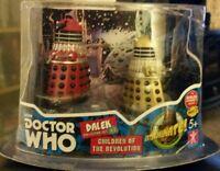 Doctor Who Children Of The Revolution Dalek Figure Set
