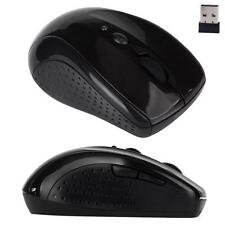 Adjustable Portable 1600DPI 2.4G Optical Wireless USB Mouse Mice For Laptop PC 1