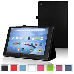 Slim Smart Cover Case for Amazon Fire 7, HD 8, HD 10 Inch Tablet (2015 Release)
