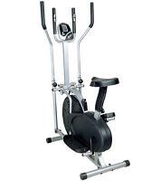 Fitness Pro 2-in-1 Elliptical Cross Trainer & Exercise Bike