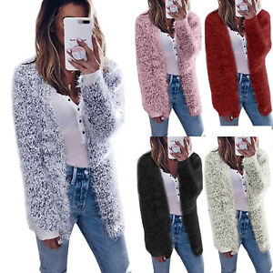 Womens-Faux-Fur-Coats-Autumn-Cardigan-Jacket-Outwear-Long-Sleeve-Fluffy-Shaggy
