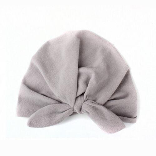 Kid Bebê Recém-nascido Menino Menina Criança Infantil Laço Chapéu Boné Gorro de algodão