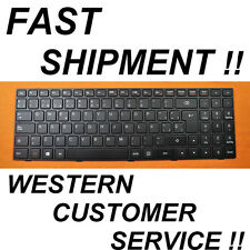 NEW Spanish keyboard Lenovo Ideapad 100-15IBY B50-10 Latin Espanol black teclado
