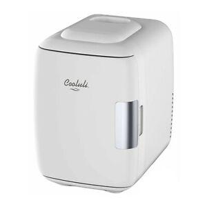 Cooluli Classic 4 Liter Portable Compact Multipurpose Cooler Warmer Mini Fridge