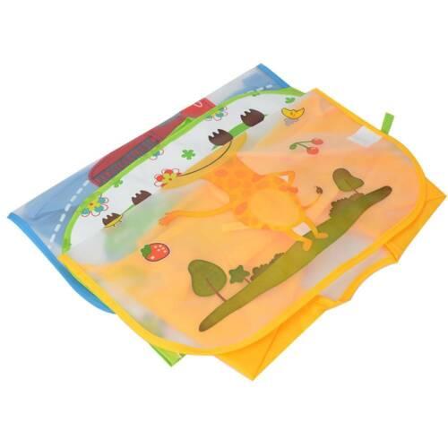 6 PCS Baby Lätzchen Babylätzchen Stück Sabberlatz Wasserdicht mit Ärmel Latz
