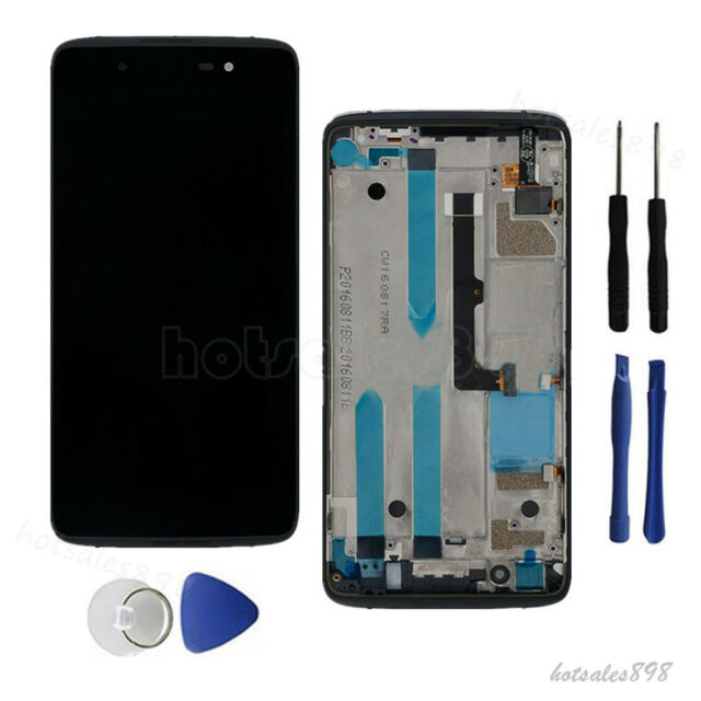 for Blackberry Dtek50 LCD Digitizer Display Touch Screen Frame Replacement