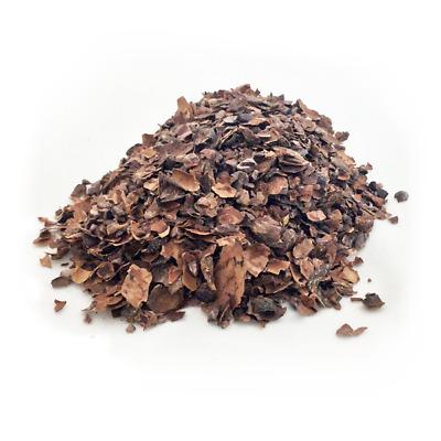 Organic cacao husk cocoa bean shell infusion chocolate tea immune boost