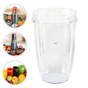 Magic-Juicer-Cup-Mug-Clear-Replacement-For-NutriBullet-Nutri-Bullet-24OZ-US