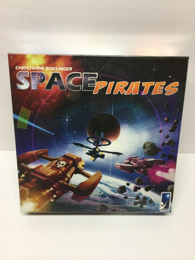Space Pirates Board Game New in sealed box by Sirius Games