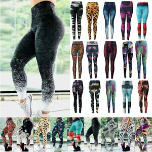 Women-3D-Printed-Yoga-Sport-Leggings-Workout-Gym-Pants-Fitness-Stretch-Trousers