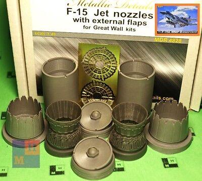 Harrier GR7//GR9 Metallic Details MDR4816-1//48 Swiveling nozzles and wheels