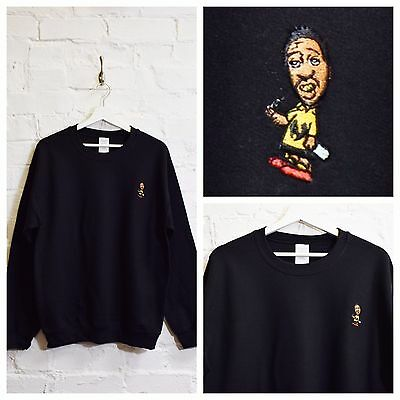 WU TANG DONUTS RAP//HIP-HOP EMBROIDERED SWEATSHIRT ALL SIZES
