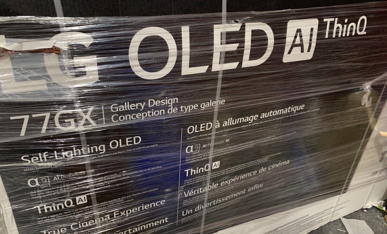New LG OLED77GXPUA 77