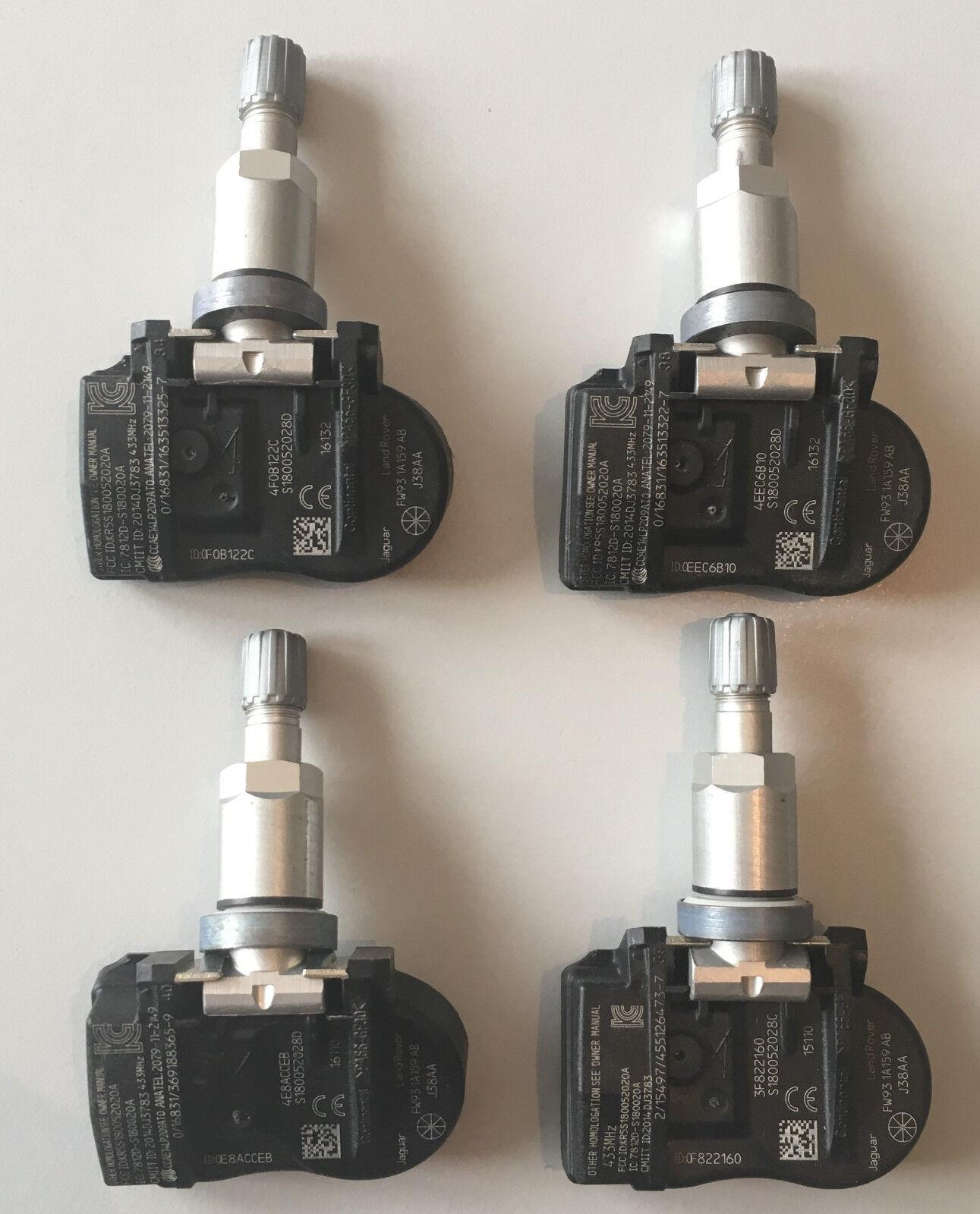 1 Land Rover presión neumáticos sensor rdks TPMS 433 MHz range rover jaguar fw931a159