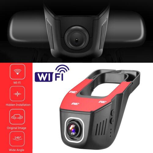 Hidden Wifi Car DVR Vehicle Camera Video Recorder Dash Cam Night Vision 1080P HD
