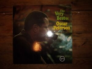 Vinyle-33T-LP-Oscar-PETERSON-034-Very-best-of-034-Jazz-Pressage-France-VG-VG