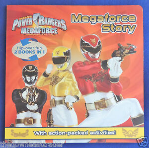 Details about 2-in-1 Saban's Power Rangers Megaforce Action Activities &  Story Book Parragon