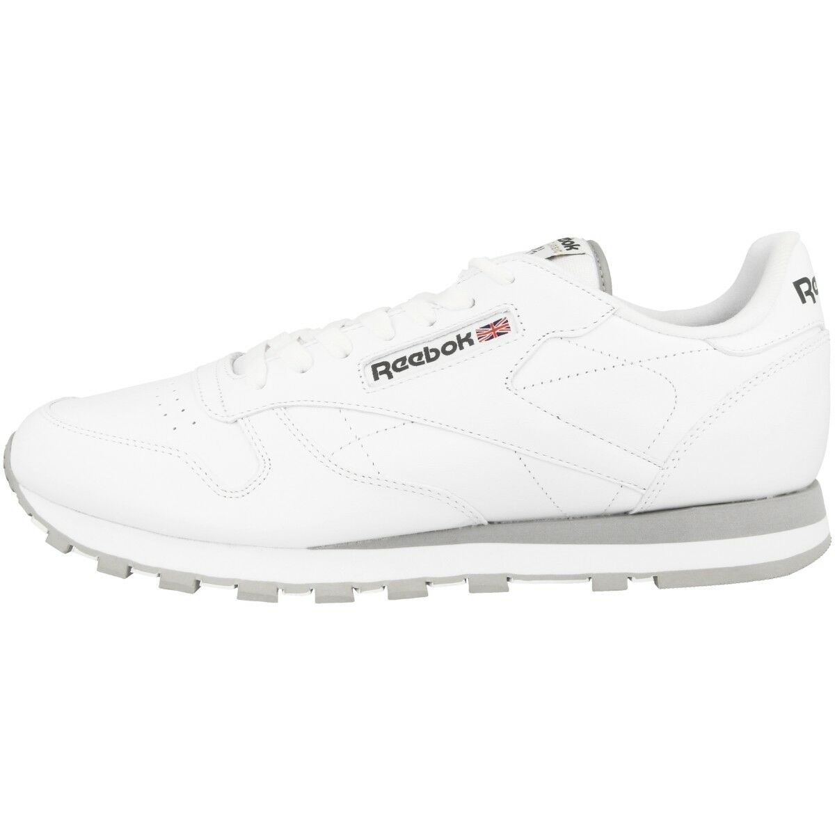 Zapatos promocionales para hombres y mujeres REEBOK CLASSIC LEATHER SNEAKER SCHUHE WEISS 2214 FREIZEIT SPORT FITNESS