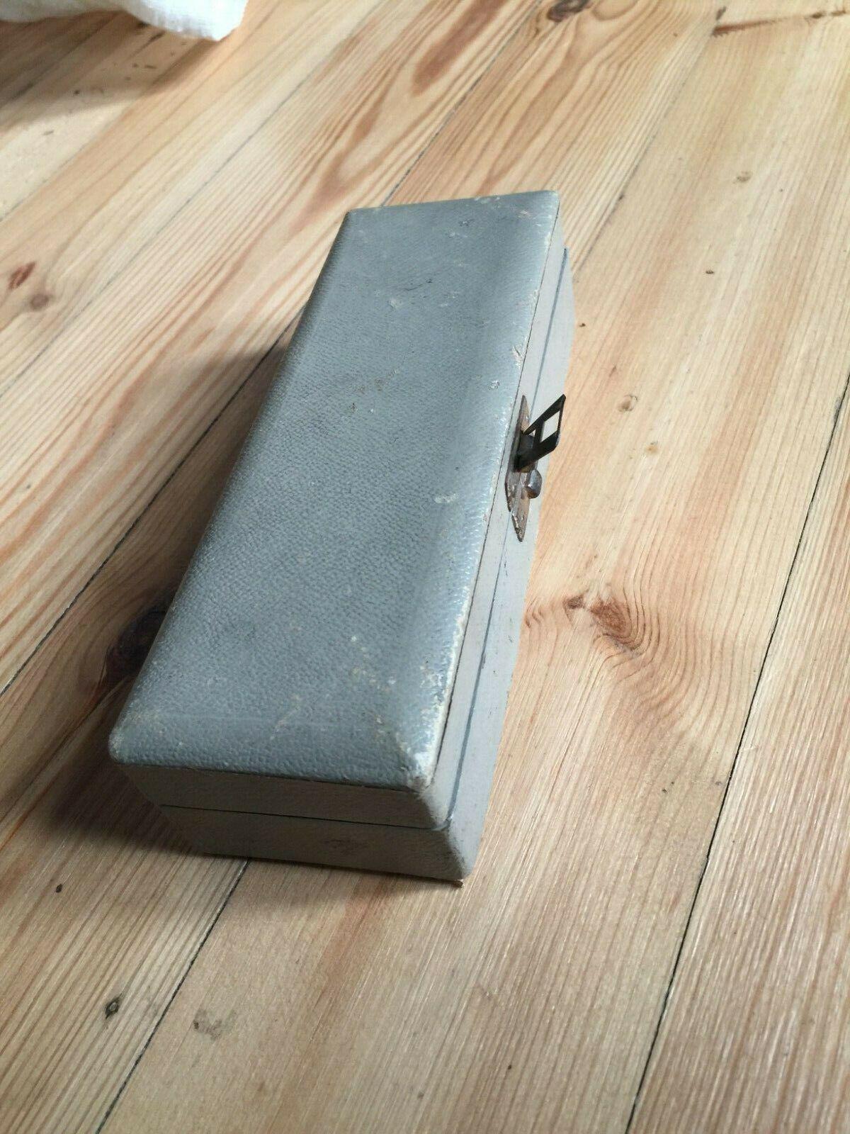 Box   case for a Vintage Telefunken   AKG D19 B C D 19 D-19 Microphone