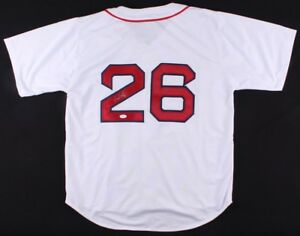 the best attitude 3531e c7ff7 Details about Wade Boggs Signed Boston Red Sox Jersey