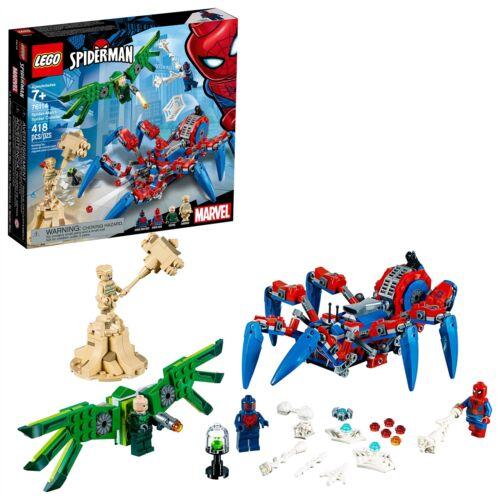 Spider-Man/'s Spider Crawler 76114 Super Heroes Toy LEGO® Marvel Super Heroes