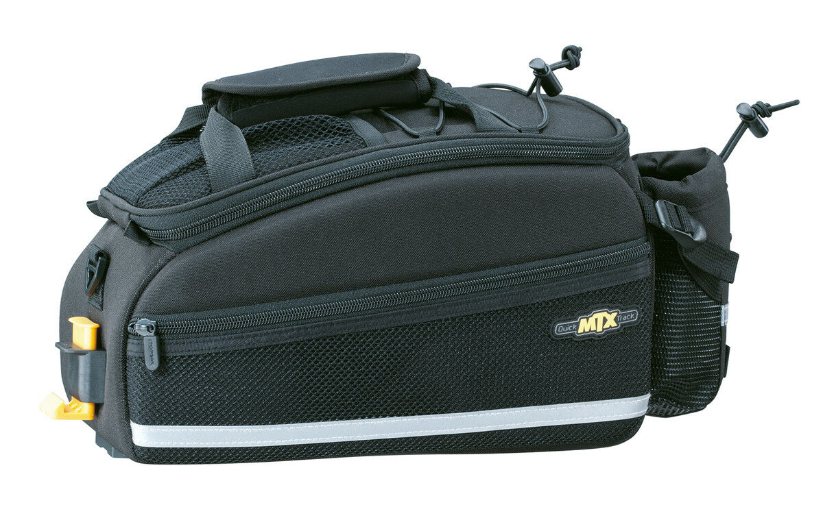 Topeak Bag mtx trunk Bag Topeak ex bicicleta bolsa portaequipaje negro resistente al agua 0ff735