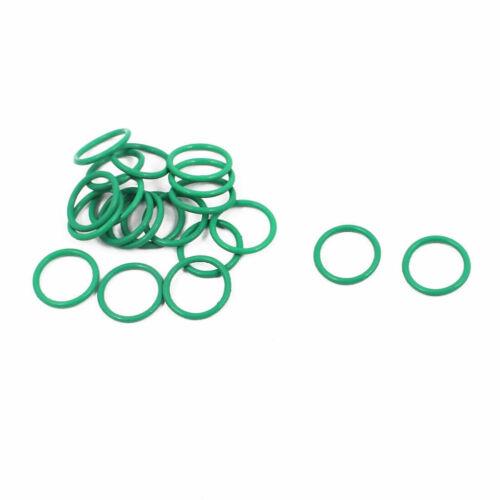 20 Stück Grün 10mm x 8mm x 1mm FKM O Ring Dichtung Dichtungsringe Dichtungen
