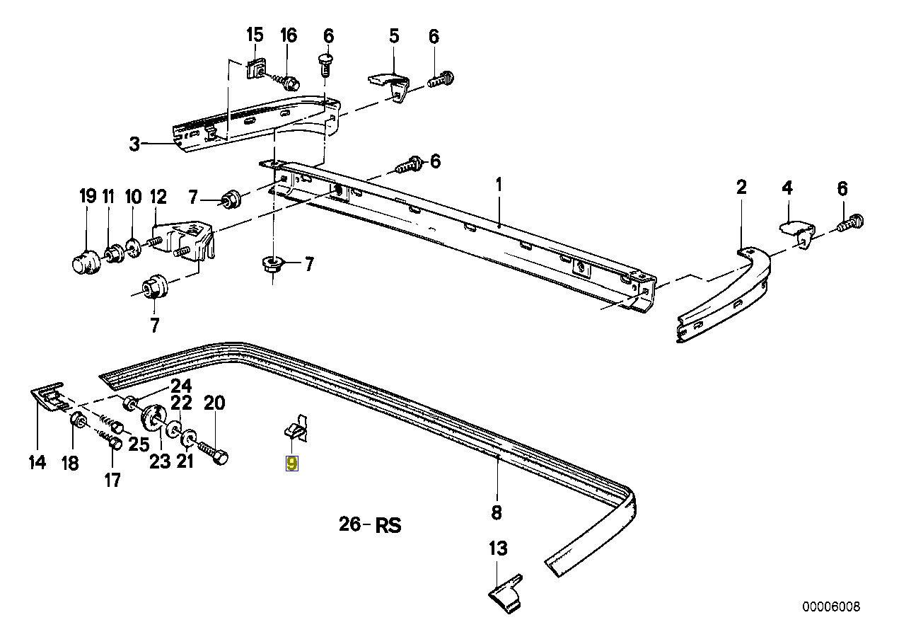 30x Halter Seitenschweller außen Rocker Formteil Radlauf Befestigung BMW 7er X3