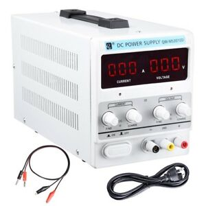 DC-Power-Supply-30V-10A-Precision-Variable-Digital-Lab-Adjustable-with-Cable