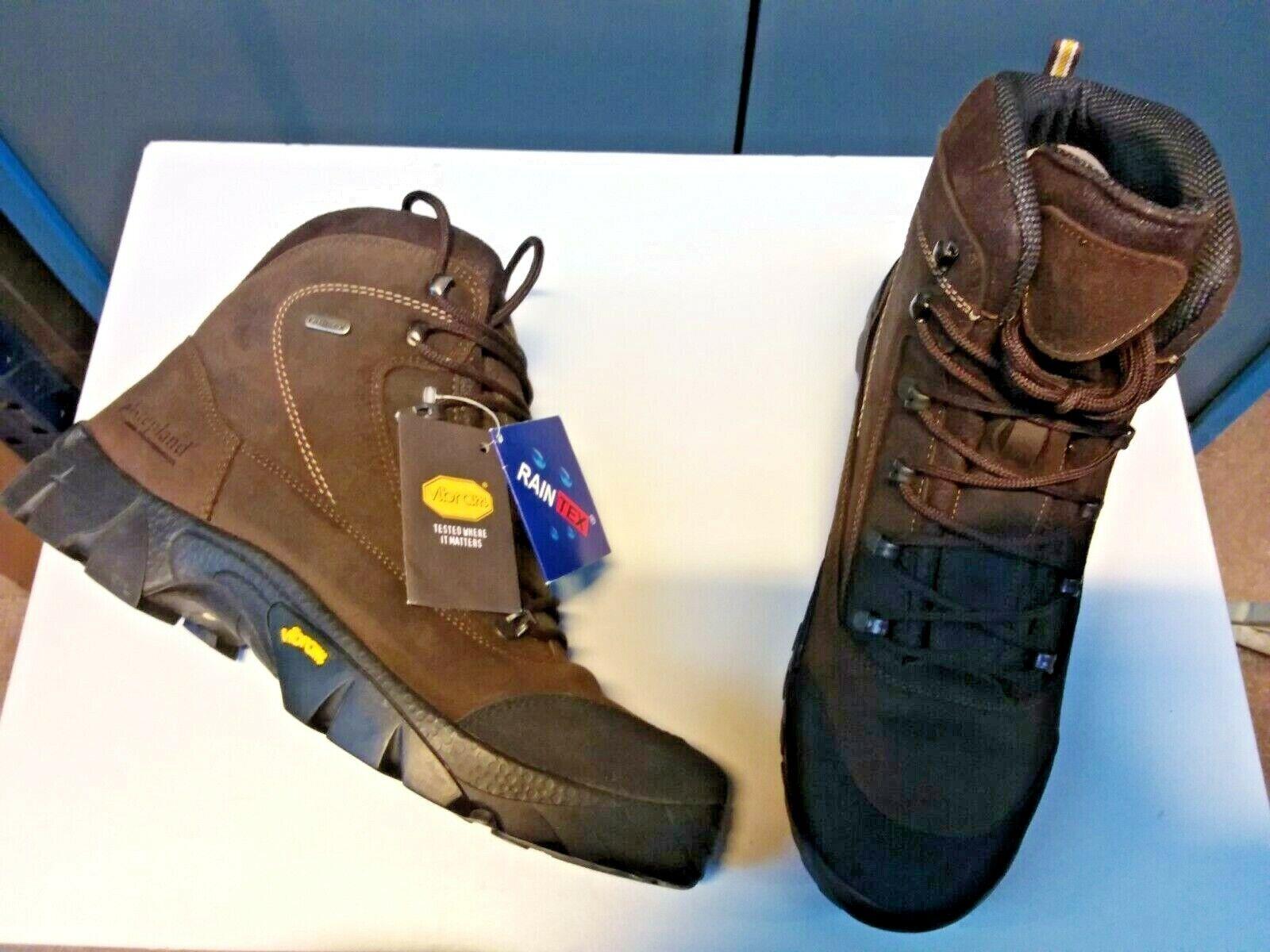 "Schuhe Wandern Stepland Model ""Vercors"" . Leder, Sohle Vibram. Größe 41"