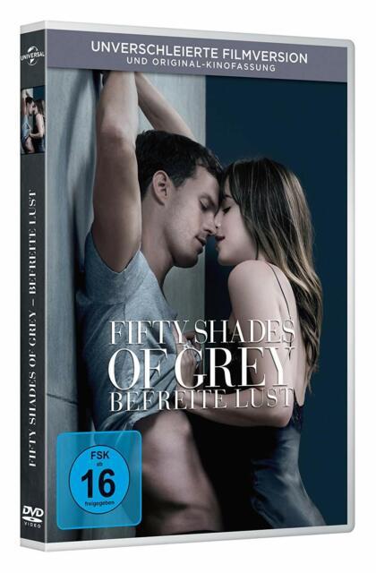 Fifty Shades of Grey -Teil:3  Befreite Lust (Unverschleierte Vers.)[DVD/NEU/OVP]
