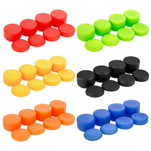 Controller Thumbstick Grips Cover - Pack of 8 for PS5, Xbox Series X, PS4 & Xbox