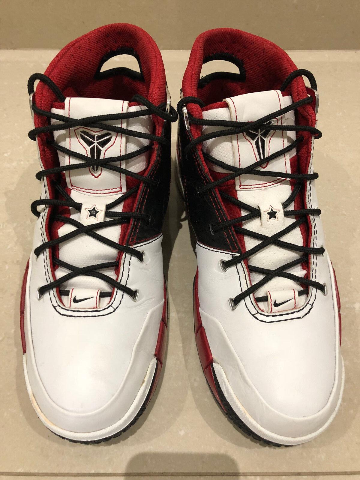 Nike Zoom Kobe 1 All Star White Black Varsity Red Sz 11 US Mens Kyrie LeBron