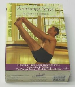 The Ashtanga Yoga Collection Instructional Dvd Set New Sealed Richard Freeman 600835088022 Ebay