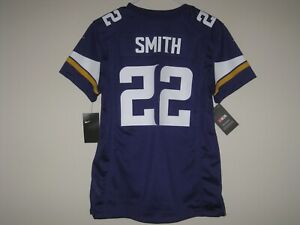 half off a89a1 63cdb Details about NEW NIKE HARRISON SMITH MINNESOTA VIKINGS COLOR RUSH JERSEY  WOMENS XL $100