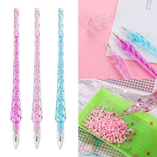 5D Diamond Painting Dot Drill Pen DIY Embroidery Cross Stitch Nail Art Tool