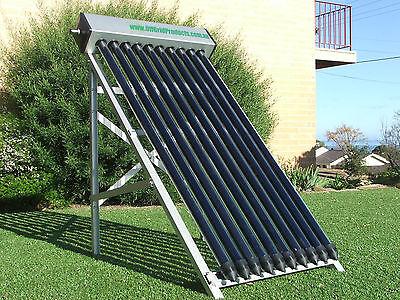 10 Vacuum Tube Solar Water Heater