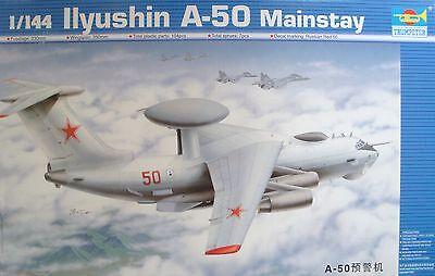 TRUMPETER® 03903 Soviet Iljushin A-50 Mainstay in 1:144